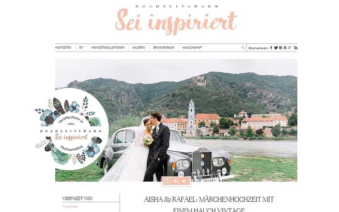 Featured am Hochzeitswahn