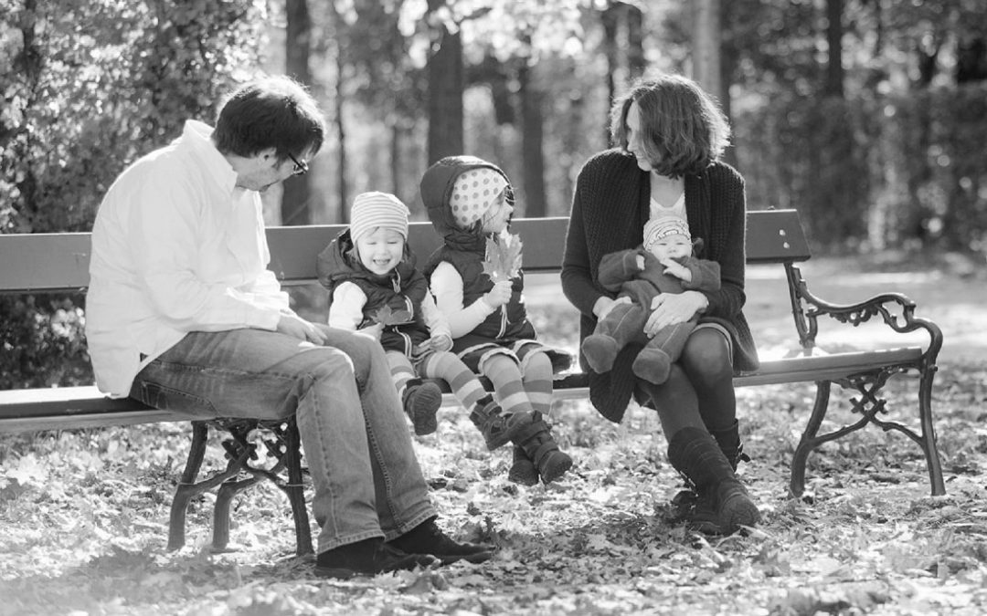 Kleiner Familienausflug in den Park