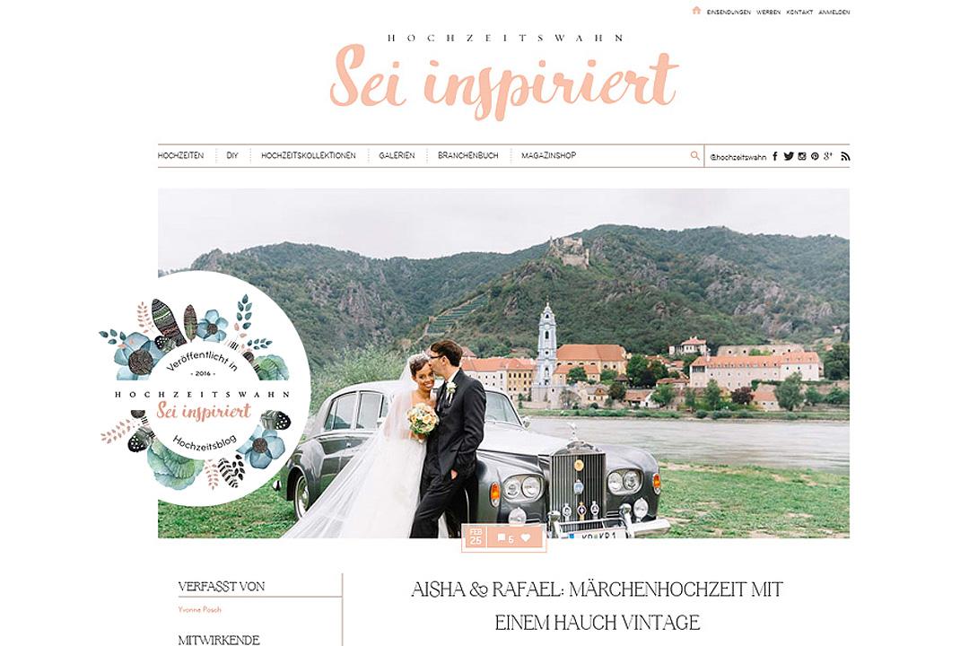 Hochzeitsreportage Vintage Hochzeitswahn Stift Göttweig peaches mint