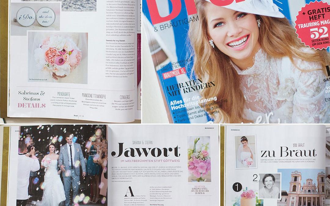 Im Brautmagazin