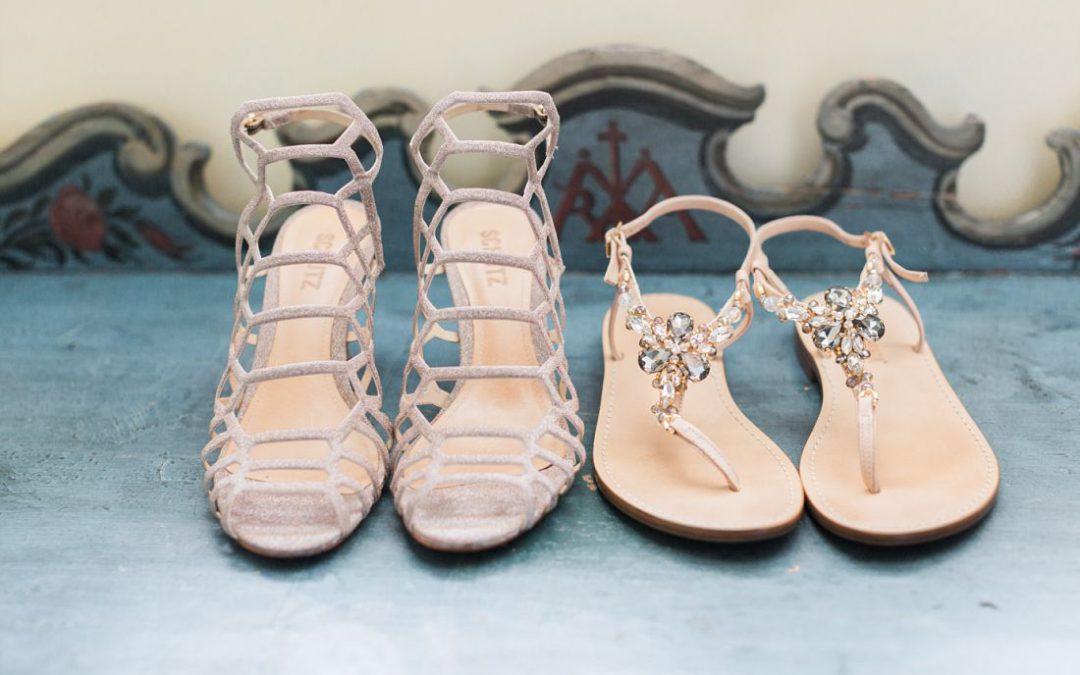 In 3 Schritten zu deinen perfekten Brautschuhen