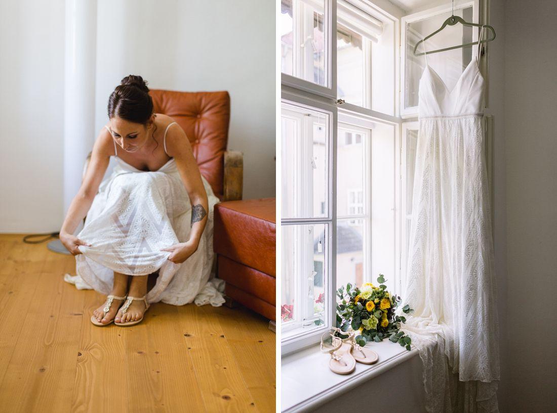 Tipps für perfekte Brautschuhe. Hochzeitsfotografin Dorelies Hofer