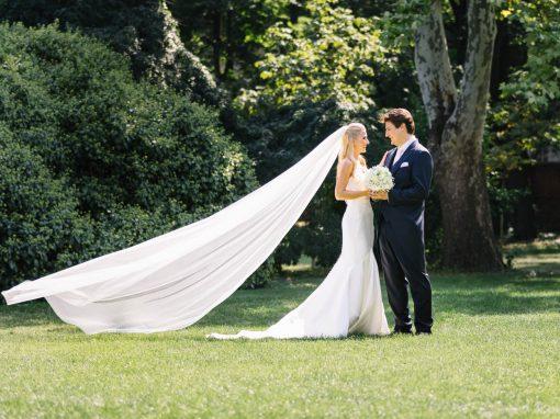 Modern elegante Hochzeit in Wien