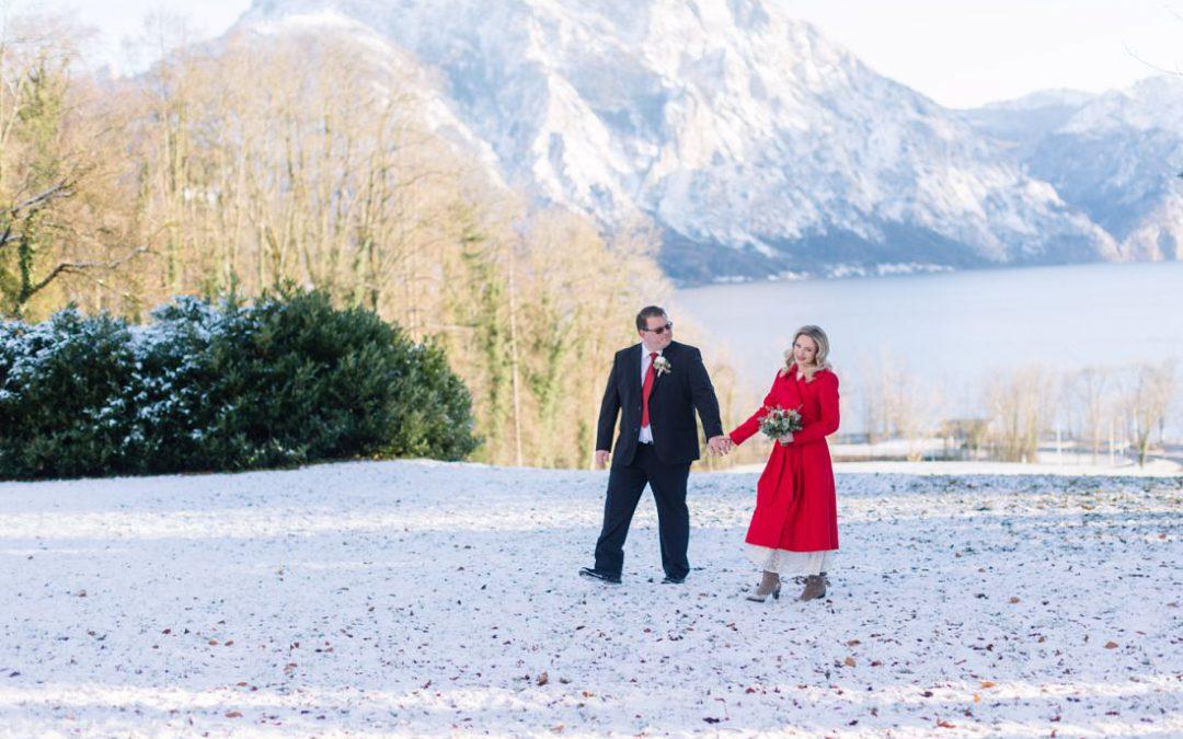 Lisa und Hannes: Winterhochzeit im Salzkammergut