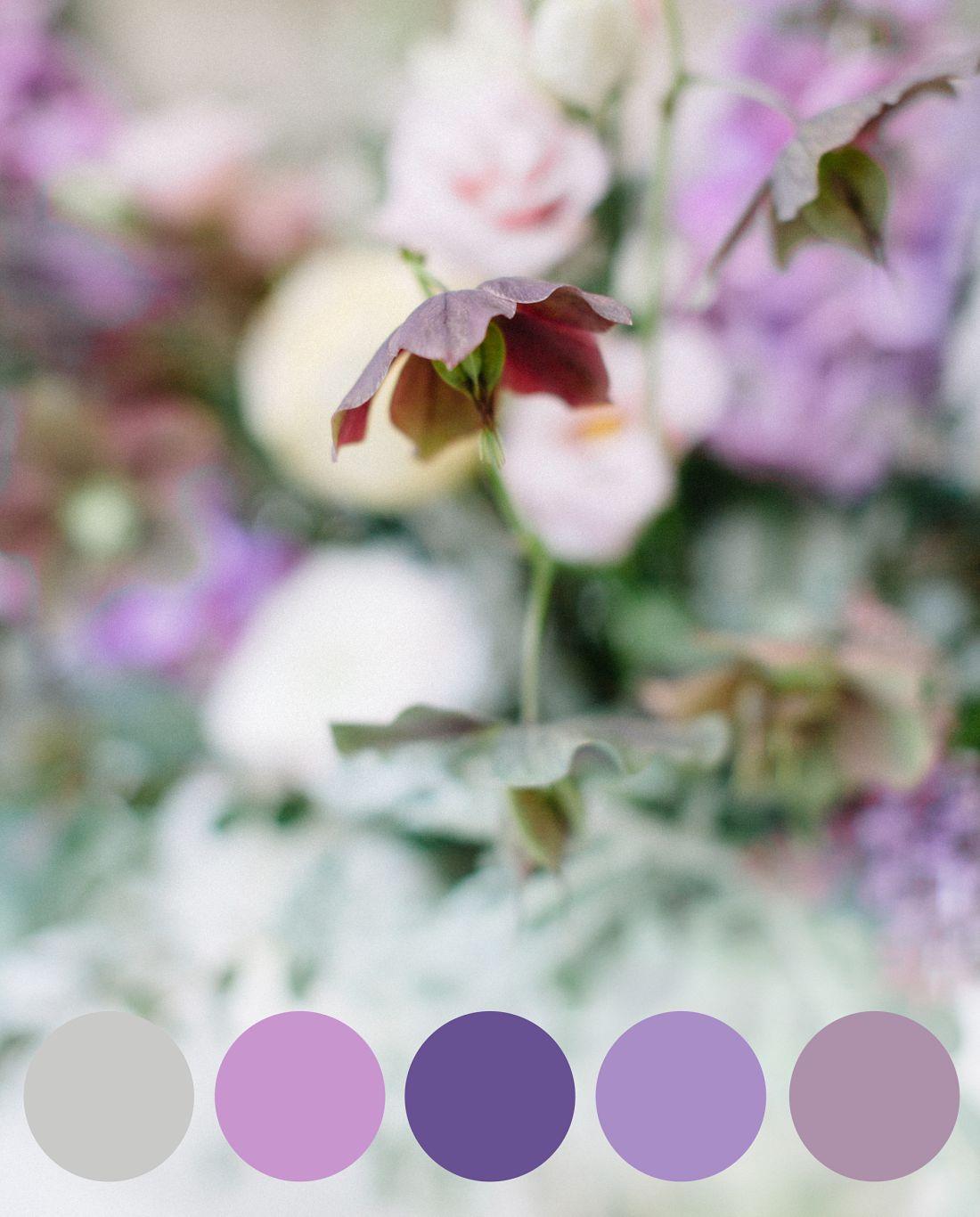 Hochzeitsinspiration Pantone 2018 Ultra Violett,