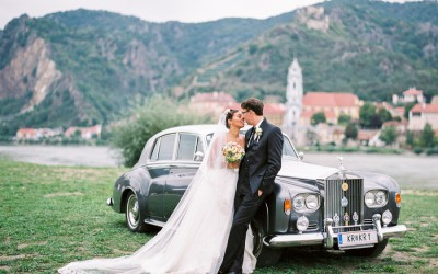 Eine Hochzeit wie für eine Prinzessin und ihren Prinzen
