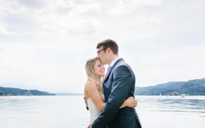 Am Wörthersee: Hochzeit die Erste