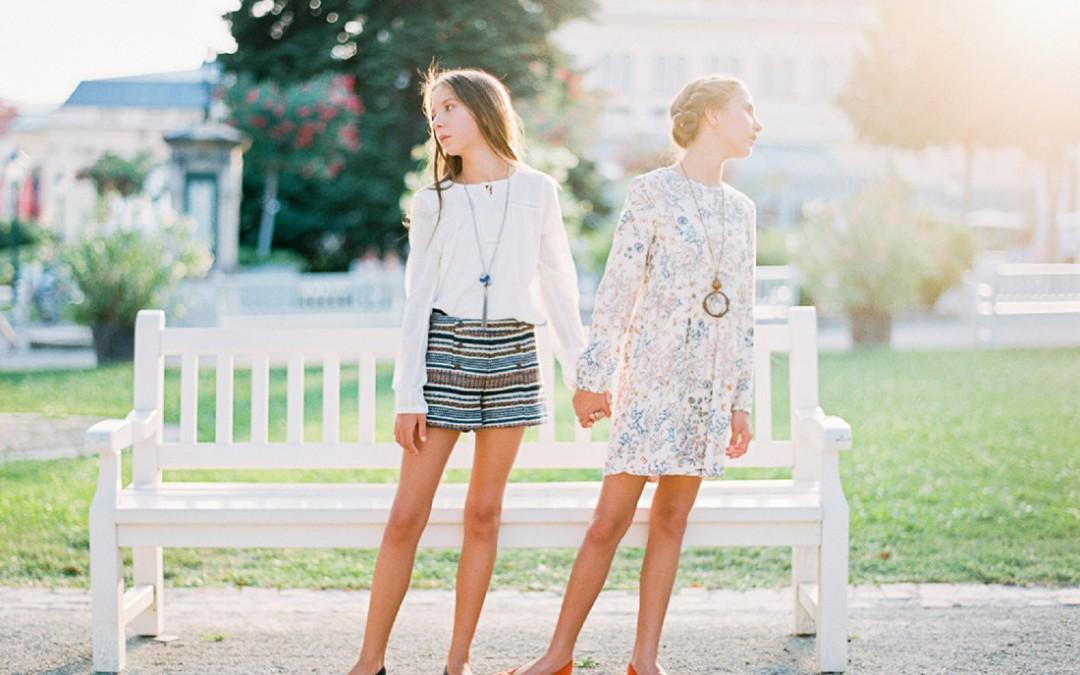 Fashionshooting mit Caroline und Agnes